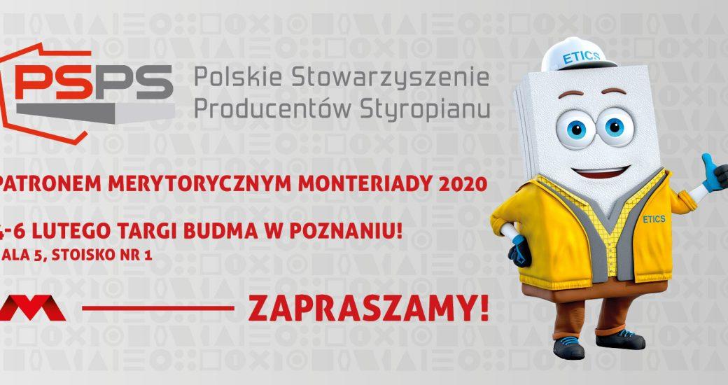 PSPS patronem merytorycznym MONTERIADY podczas Międzynarodowych Targów BUDMA 2020